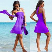 2015 Summer Holiday Beach Bathe Swim wear Sexy Push Up Chest Bra Wrapped Bikini Dresses Variety Ribbon Swimsuit Vestido de praia