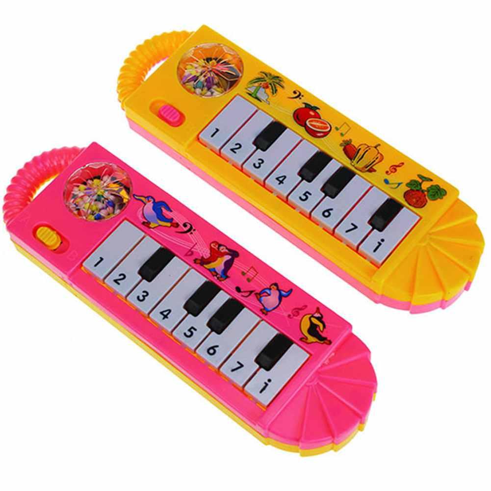 1pc Mini 0-7age Baby Children Kids Toddller Music Plastic Piano Developmental Sound Cute Toy Gift Free Shipping(China (Mainland))