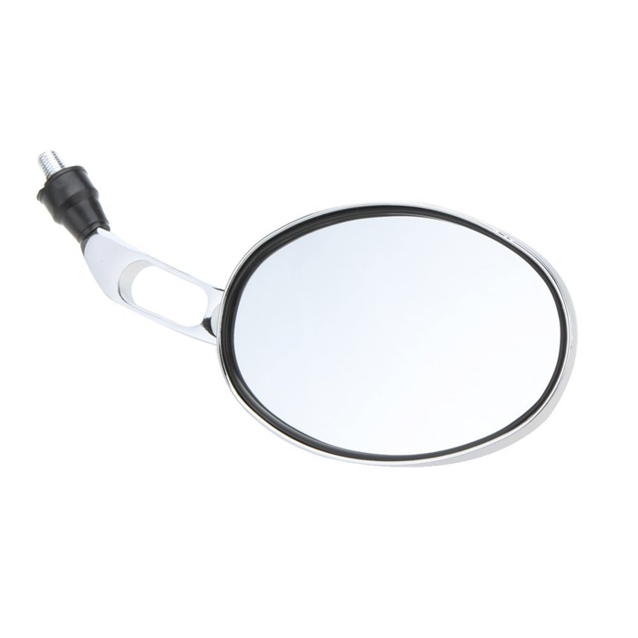 10 мм универсальный мотоцикл заднего вида зеркало заднего вида хром мотоцикл зеркала заднего вида серебро C408