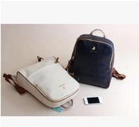 DA363 T New Little bear printing PU zipper travel bag computer bag school bag backpack wholesale drop shipping free shipping