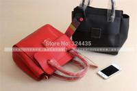 RO090 New2015 fashion Lichee Pattern PU Leather Patchwork hasp handbag shouder bag wholesale drop shipping free shipping