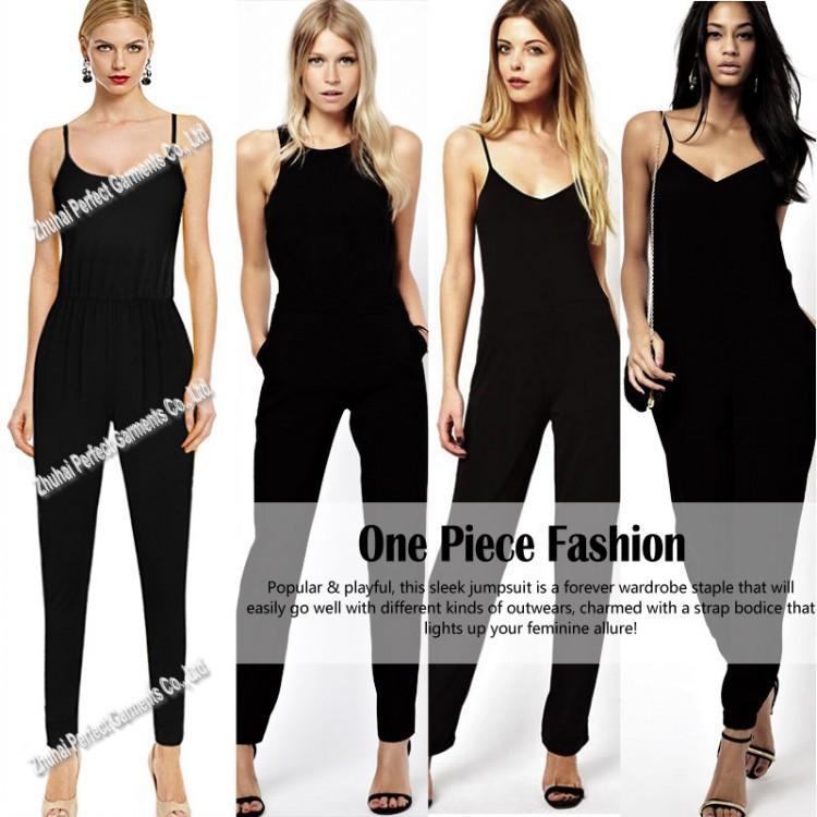 Jumpsuit For Women Plus Size Plus Size Black Jumpsuit