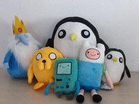 Adventure Time Finn Jake Plush Doll PLUMP JAKE Plush Toy Free Shipping 5pcs/Lot 27.5cm/11inch