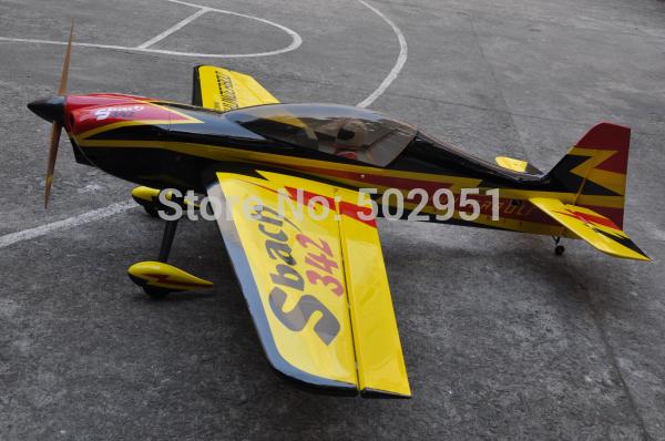 sbach342 50cc Gasoline / Remote Control Airplane / balsa airplane(China (Mainland))