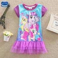 4-8Years my little pony Baby dress girls New Style 2015 Fashion My little pony Children Dress Girls Dresses Summer Girls Dress