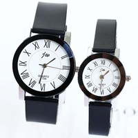 Watches Roman Numerals Simple Popular Fashion Quartz Watch Lovers Men Women Girl Unisex Wrist Silicone Bracelet Clock