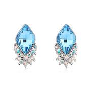 Quality earrings crystal drop stud earring accessories