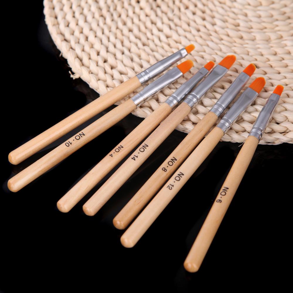 Кисточка для ногтей Nail Art brush 7Pcs DIY VH12052 кисточка для ногтей yifu store 1 2ways diy nao10