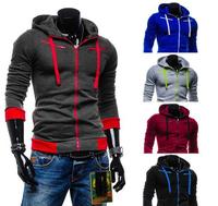 Winter Autumn Fleece Cardigan Hoodie Jacket Brand Mens Casual Zipper Sports Hoodies Sweatshirts Slim Tracksuit  Top Outwear