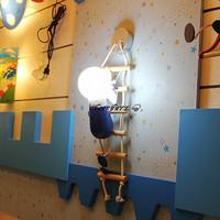 Modern Fashion Kids Philis  Climb Wall Lights Children Cartoon Wall Lamp Master Room Bedroom Lighting  WL156
