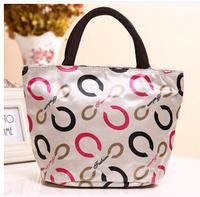 New fashion female bag waterproof canvas printing portable han edition lady handbags leisure lunch bag