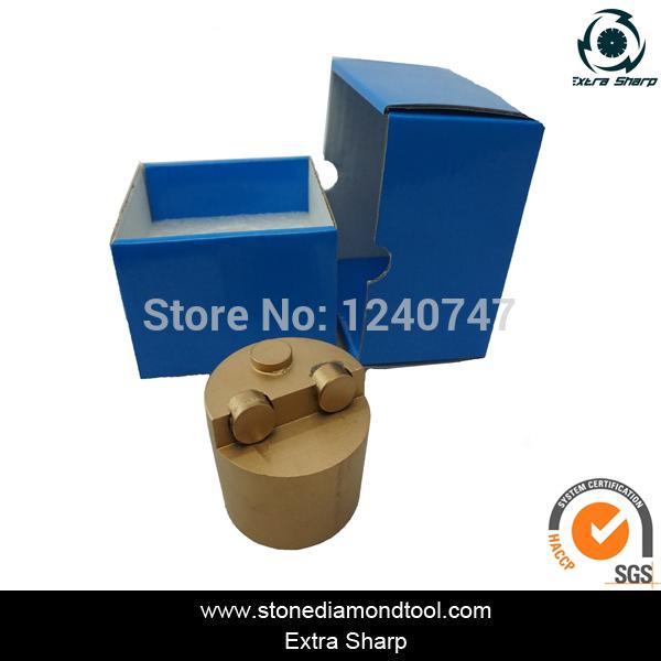 2''/50mm 3 PCDs Diamond Plug Concrete Polishing Tools for Floor Finishing(China (Mainland))