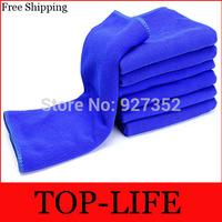 "200PC 30*70cm(12""*28"") Microfiber Car Cleaning Cloth Microfibre Detailing Polishing Scrubing Waxing Cloth Hand Towel Streak"
