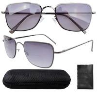 Spring Hinges Poly-carbonate Lens  Glasses W/case R1501-Bifocal +0.00/1.0/1.5/2.0/2.5/3.0/3.5
