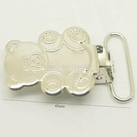 50pcs/lot,25mm ribbon go through teddy bear shape suspender clips,Wholesale Suspender Clip,Clips Suppliers & Manufacturers