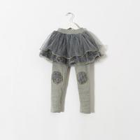 New 2015 arrivals girls Boutique sweet leggings with tutu skirt baby girls lace leggings 5pcs/lot