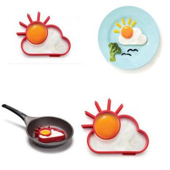 Бесплатная доставка 1x новинка забавный симпатичные вс / облако сковорода яйцо кольцо формирователь творческая кулинария инструменты