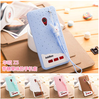 New Fashion Lovely High Quality 3D Ice cream Color TPU Soft Silicone Case Cover For ASUS Zenfone 5 Free shipping