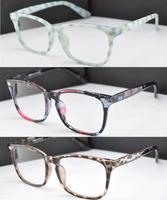 Ceramic plant animal pattern frame Custom made optical lenses Reading glasses -1.0 -1.5 -2.0-2.5 -3.0 -3.5 -4 .0-4.5 -5 -5.5 -6