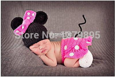 Newborn Baby Girls Boys Crochet Knit Costume Photo Photography Prop Outfit HT#39(China (Mainland))