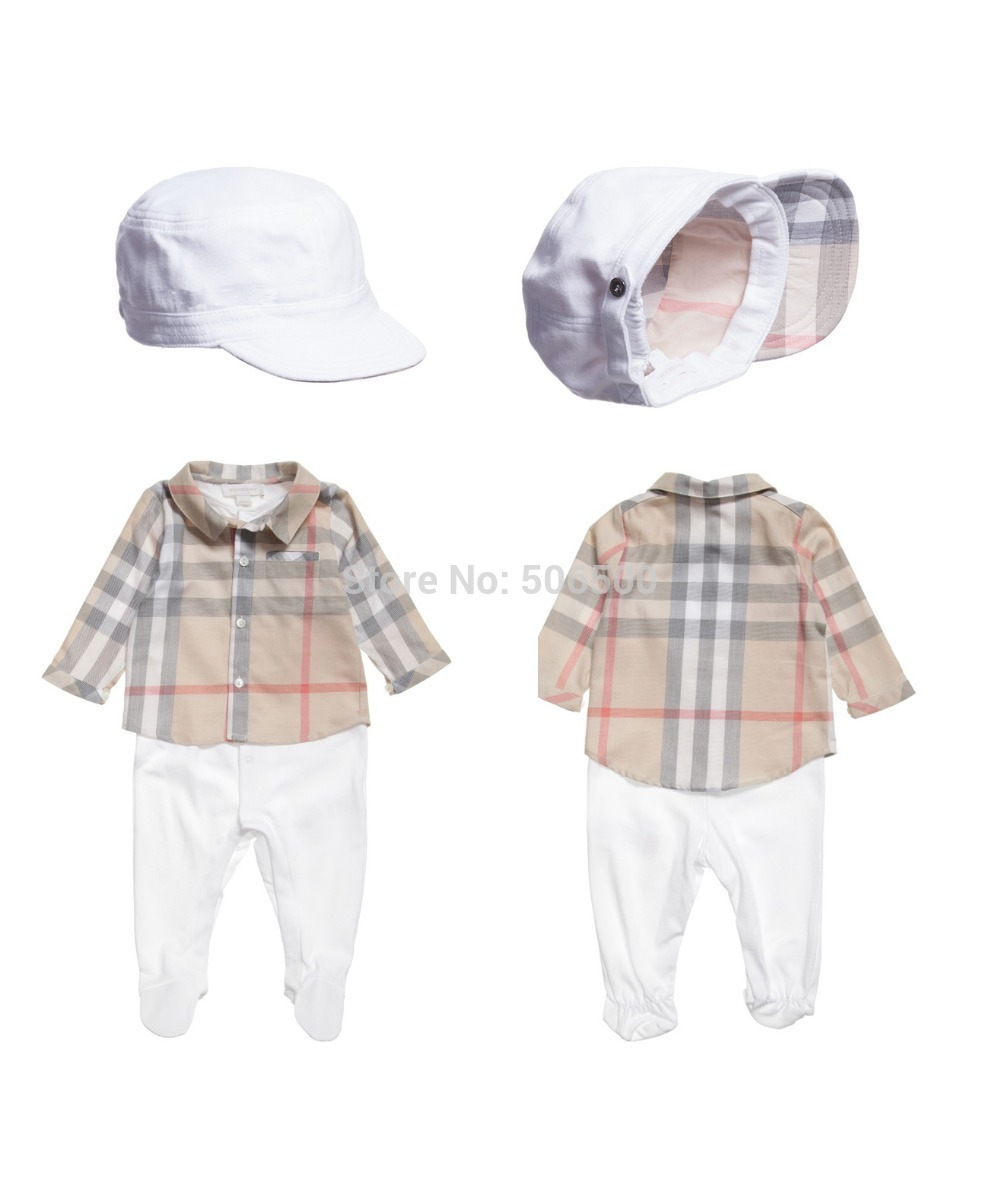 Retail New Arrival 2015 spring autumn Baby boy sets kids clothing sets hat+top+pants 3pcs set baby costumes 3640(China (Mainland))