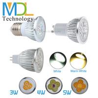 3W 4W 5W LED Spotlight Bulbs Aluminum Alloy and PC LED Bulbs GU10 Base Lamp 110-240V Voltage LED Chips Hot Sale MDLSP-5-003