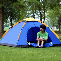 Outdoor 1 - 2 automatic tent outdoor camping tent double tier single camping tent