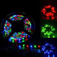 3528 5M RGB 60lem/m 300 LED Strip Light Non-Waterproof DC 12V Flexible Home Decoration SMD