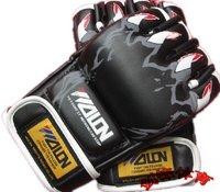 Genuine Wulong boxing gloves gloves gloves Taekwondo Sanda play sandbag gloves boxing glove is the phantom of the Opera