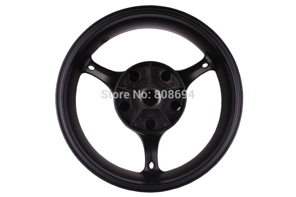 New Black Rear Wheel Rim For Suzuki GSXR 600 GSX-R 600 GSXR 750 2006-2007 K6 K7(China (Mainland))