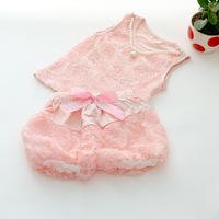 Free shipping 2014 New arrival children girl summer clothing set baby girls rose 2pcs set pink floral vest + pants suit