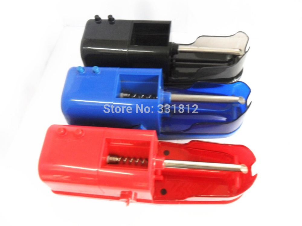 Electric Cigarette Rolling Machine Automatic Injector DIY Maker EU Plug