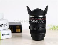 4th Generation Free shipping + stainless steel Mug Camera Lens Cup 24-105mm 1:1 Scale Coffee lens mug 60pcs free Ship