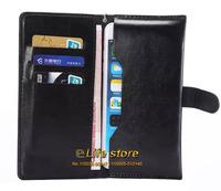 Card Case Mobile Phone Leather Case Wallet Book Case Money Case For Lenovo RocStar (A319) S750 A316i A328