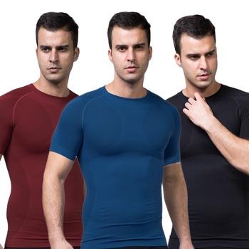 Мужская майка для похудения спортивные майки рубашка утягивающее белье футболка мужчины ...