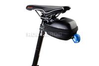 ROCKBROS Bike Bicycle Cycling Fit for Road Bike Saddle Bag MTB Seatpost Bag Waterproof Saddle Bag Black New