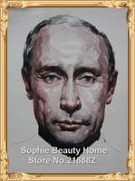 Full Area Highlight Diamond Needlework Diy Diamond Painting Kit 3D Diamond Cross Stitch Embroidery Vladimir Vladimirovich Putin