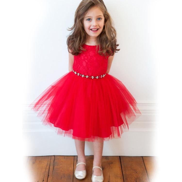 Vestidos Infantis 2015 birthday party baby girls dress,Lace tutu Evening dresses for girls,Princess Ball Gown Kids Formal Dress(China (Mainland))