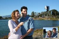 Selfie Stick Mobile Phone Camera Selfie Tripod 1/4 Screw Extendable Portrait Handheld Selfie Monopod for iOS Android