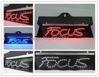 NEW high quality Single Letter led car light accessories Second-Generation 2rd Additional brake lights