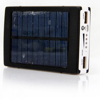 NEW 30000mAh Solar Panel Power Bank Dual USB External Battery Charger #230665