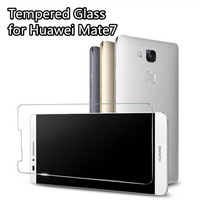 New Mobile Phone High Quality Tempered Protective Film for Huawei ascend mate 7 6inch Screen Protector Guard with Retail Box
