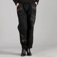 2015 New Spring Autumn Women's Pants Jeans Women trousers High elastic waist fat bloomers Plus Size 4XL winter mother legging