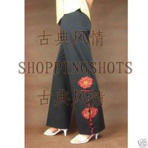 Chinese pantaloon pants trouser breeches clothes 081110(China (Mainland))