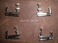 40 PCs Violin Fine tuner Silver color string adjuster for 3/4 to 4/4