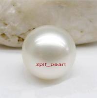 tahitian AAA+11-12mm tahitan white  Pearl Half-naked bead hole