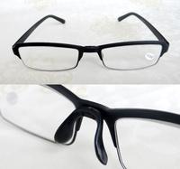 [!!TWO PAIRS!]TR90 Super elastic memory semi-rim Plate One nose men women reading glasses +1.00+1.50 +2.00 +2.50+3.00+3.50+4.00
