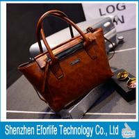 New Fashion Trends America Atmospheric Handbag Leisure Wild Shoulder Diagonal High-capacity Handbag, 3Colors Free Shipping