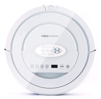 Free Shipping 2015 Newest TOP-Grade Robot Vacuum Cleaner For Home,6 drop sensors 360 degree anti-fall,2 storey dust bin unique