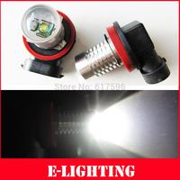 2x H11 CREE Q5 5W LED Car Fog Light Bulbs DRL for VW PASSAT B6 06+ PASSAT SEAT AUDI A4 A3 Xenon White Color